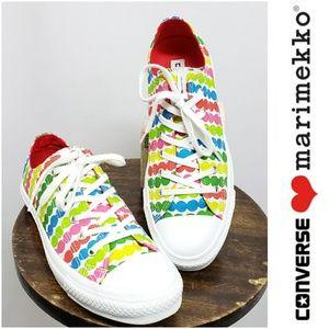 Limited Ed Converse Marimekko Polka Dot Sneakers 8